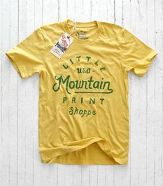 T shirts LMPS Green & Yellow