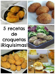 Croquetas ¡5 recetas para elegir! | Cuuking!