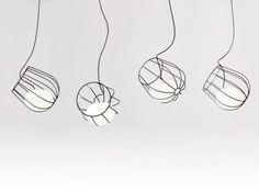 Light Inside a Metallic Basket clever design light metallic - martin azua
