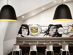 NUDO restaurant by HDG architects, Spokane – Washington