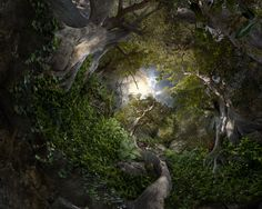 Expedition: Surreal Landscapes Composed from Hundreds of Photographs by Catherine Nelson landscapes digital collage