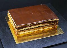 #cook #cuisine #patisserie Mon 1er Opéra, un délice http://www.sugarnsale.com/2013/12/mon-1er-opera-et-franchement-delicieux.html