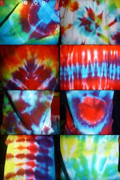 The Earthly Creative: PROJECT 2: Tie-Dyed Baby Onesies & Vests