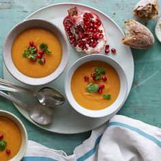 Sweet Potato and Red Lentil Bisque