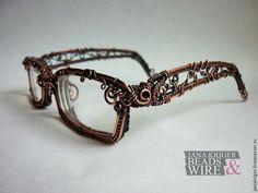 Wow! Wire work glass