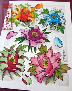 Tattoo Flash Art by Paulo Barbosa - Ariuken Art on Facebook