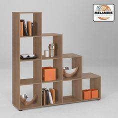 4 Tier Walnut Display Shelves, Mega2