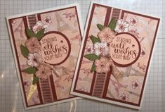 Paris Cards, Leaf Flowers, Stamping Up, Flower Cards, Stampin Up Cards, Your Cards, Parisian, Thank You Cards, Card Stock