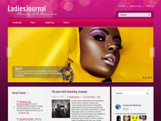 This simple and elegant WordPress template is great solution for women's blog. LadiesJournal, like our other themes, comes with Shared Bar that will help your visitors to share your blog with their friends.
