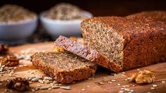 Unser #Haferbrot #glutenfrei mit #Walnüssen einfach herzustellen, lecker im Geschmack