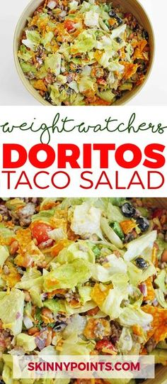 Doritos Taco Salad come with only 4 weight watchers SmartPoints
