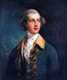 """""""George IV as Prince of Wales"""" - Thomas Gainsborough (1781), Museo Nacional de Bellas Artes de La Habana"""