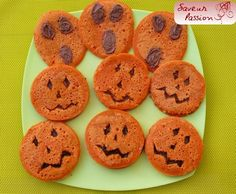 Grignotage sain pour Samain - Halloween : pancake-sandwich tartinade pomme-pruneau