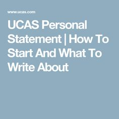 Personal Statement for Arts application   A Level Miscellaneous