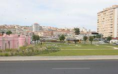 Portas de Benfica Baseball Field, Slab Doors, Garden, Parks, Baseball Park