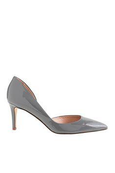 11 Low-Lying Heels That'll Take Your Style Sky-High #refinery29  http://www.refinery29.com/kitten-heels#slide10