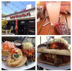 Eating vegan in Southern California.