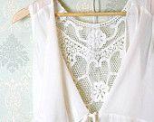 Romantic fall embroidery back drape collar sleeveless chiffon blouse jacket cape ivory cream layering night gown