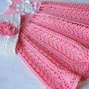 Crochet Dress - Harvest Baby Thread  - via @Craftsy