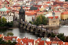 Prague Ive never been but am in love with already !