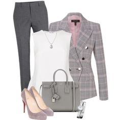 Untitled #356 by tijana89 on Polyvore featuring polyvore, fashion, style, Oscar de la Renta, ESCADA, Christian Louboutin, Yves Saint Laurent, Baume & Mercier, Tiffany & Co. and clothing