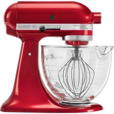 Batedeira com bowl de vidro Proline Kitchenaid vermelho 110v - Utensílios Domésticos / Utilplast - Utilplast | Utilplast