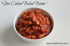 Slow Cooked Baked Beans. Cut out the Crap. Gluten Free. Dairy Free ...