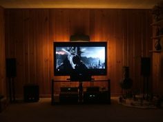 tv accent lighting. This Derlson® TV Backlight Kit Is Ideal For You To Customizing Your Home Theater, HDTV,Our \ Tv Accent Lighting L