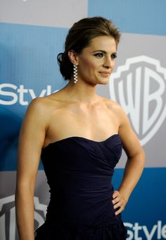 Stana Kantic Warner Bros Instyle Golden Globes Party /15/2012