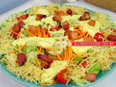 Receita de Salada de boteco