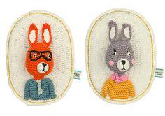 Knuffels à la carte blog: Crochet toys from La De Dah Kids!