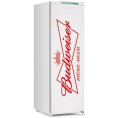 Adesivo de Geladeira Budweiser Logo