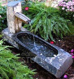 Small fountain for water play
