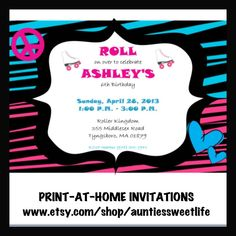 """""""Let's Roll With Camryn"""" 9th Birthday Party 