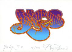Roger Dean » 'Yes' Anniversary Logo (111) (Limited Edition, Giclee Prints)