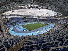 https://flic.kr/p/LNamXj   Estádio do Engenhão, Rio 2016.   Onde as provas de atletismo ocorreram.  Rio de Janeiro, Brasil. Tenham um excelente final de semana. :-)  ________________________________________________  Engenhão Stadium Rio 2016.  Where the athletics events occurred.  Rio de Janeiro, Brazil. Have a great weekend ahead! :-D  ________________________________________________  Buy my photos at / Compre minhas fotos na Getty Images  To direct contact me / Para me contactar…