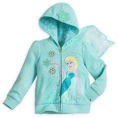 Girls Disney Frozen Elsa Hoodie