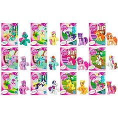 Amazon.com: My Little Pony Exclusive 12Pack Pony Collection Set Includes 6 Special Edition Ponies!: Toys & Games