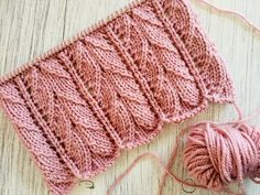 Puntada a dos agujas: Punto Cedro - YouTube Lace Knitting Patterns, Knitting Stiches, Knitting Videos, Easy Knitting, Knitting Needles, Knitting Projects, Crochet Crafts, Crochet Yarn, Crochet Boots
