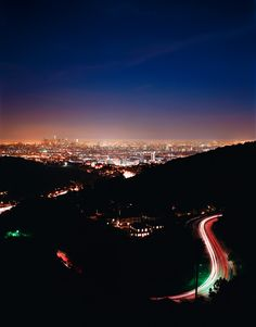 Mullholland Dr, Los Angeles     Amanda Friedman Photography