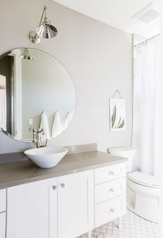 Loft Bathrooms Painting Collonade Gray Sherwin Williams Is The Perfect Gray Paint Colour .