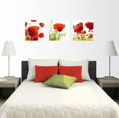cuadros de flores para dormitorios - Buscar con Google