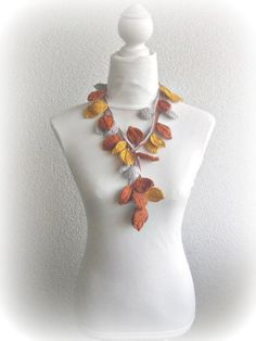 Autumn leaves to crochet