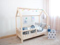 Neu Weiß Junior Kleinkind Bett 140x70 einschließlich Schaum Matratze