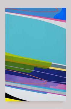 Aero | Dion Johnson 2011 acrylic and flashe on canvas