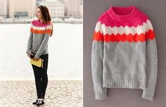 one sheepish girl: Sweaters to Wear / Sweaters to Knit