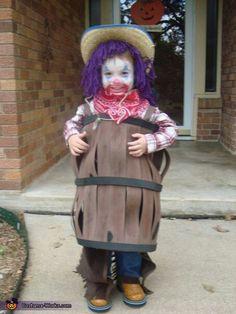 Rodeo Clown.  love the barrel