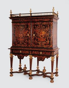 Cabinet  France, Paris, ca.1670