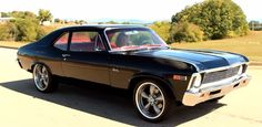 chevy nova muscle car on hot cars