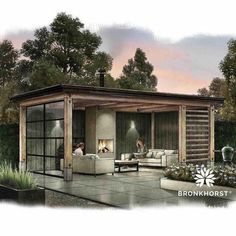 pavillion garten Outside relaxing covered area - Backyard Pavilion, Backyard Gazebo, Backyard Patio Designs, Pergola Patio, Pergola Plans, Backyard Landscaping, Pergola Kits, Outdoor Pavilion, Cheap Pergola
